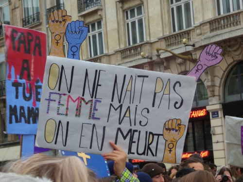 Marche contre les violences sexistes et sexuelles Lille 23 novembre 2019 scaled