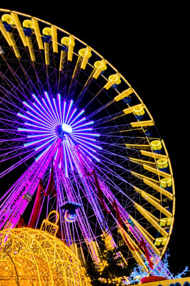 La grande roue de Lille le jour de son ouverture.