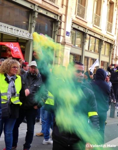 Manifestation contre la réforme des retraites Lille 11 janvier 2020 1 scaled