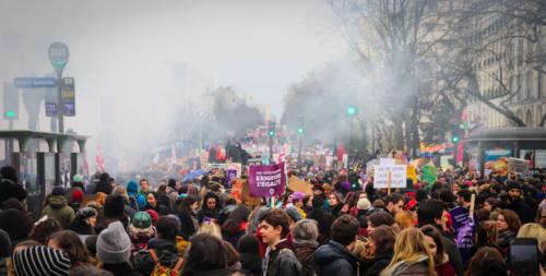 La Marche a attiré plus de 60 000 personnes selon les organisateurs ©Marthe Dolphin