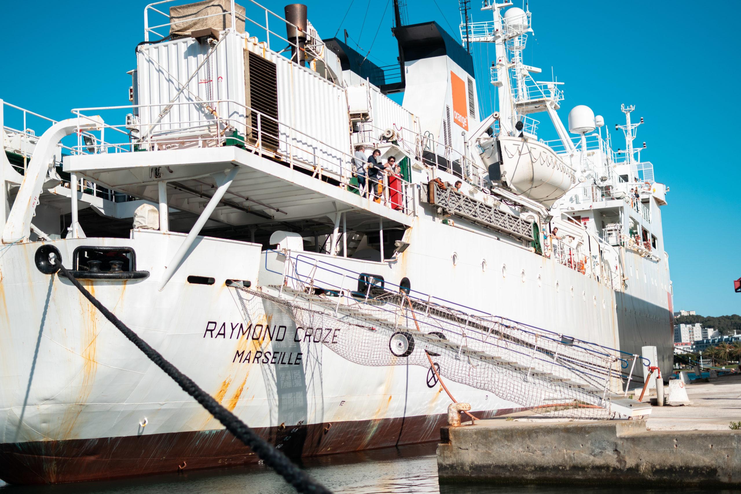 La relève d'un navire sous haute sécurité