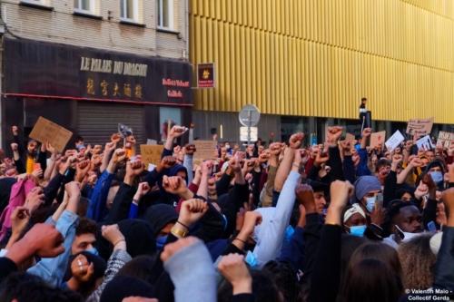 Manifestation contre le racisme et les violences policières Lille 5 juin 2020 2 scaled