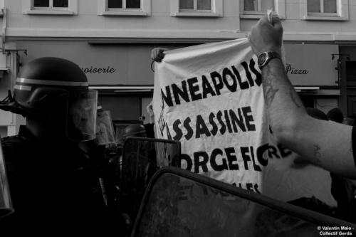 Manifestation contre le racisme et les violences policières Lille 5 juin 2020 scaled