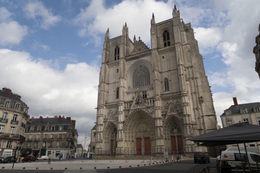Cathédrale de Nantes, 2 mois après l'incendie