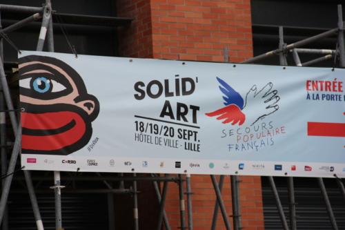 Solid'Art, une initiative du Secours populaire