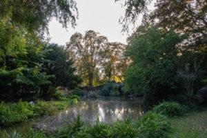 Un des lacs du Jardin Vauban