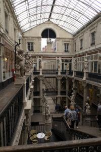 Passage Pommeraye, intérieur