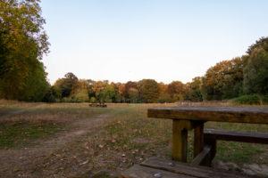 Table de pique nique au Parc de la Citadelle