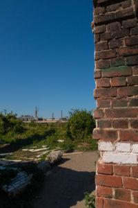 Coupe du mur d'enceinte de la Friche Saint Sauveur