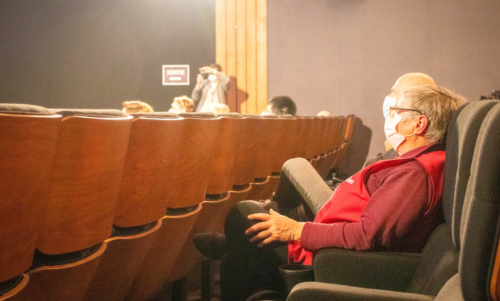 La distanciation sociale et le port du masque, ont été respecté pendant tout la durée du festival