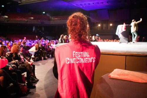 Tout au long du festival, les bénévoles étaient présents pour accueillir le public dans les meilleures conditions.
