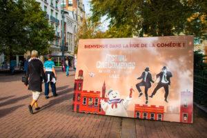 """La troisième édition du festival s'est tenu à Lille, du 30 septembre au 4 Octobre. Pour l'occasion la rue de Béthune a été rebaptisée """"rue de la comédie"""""""