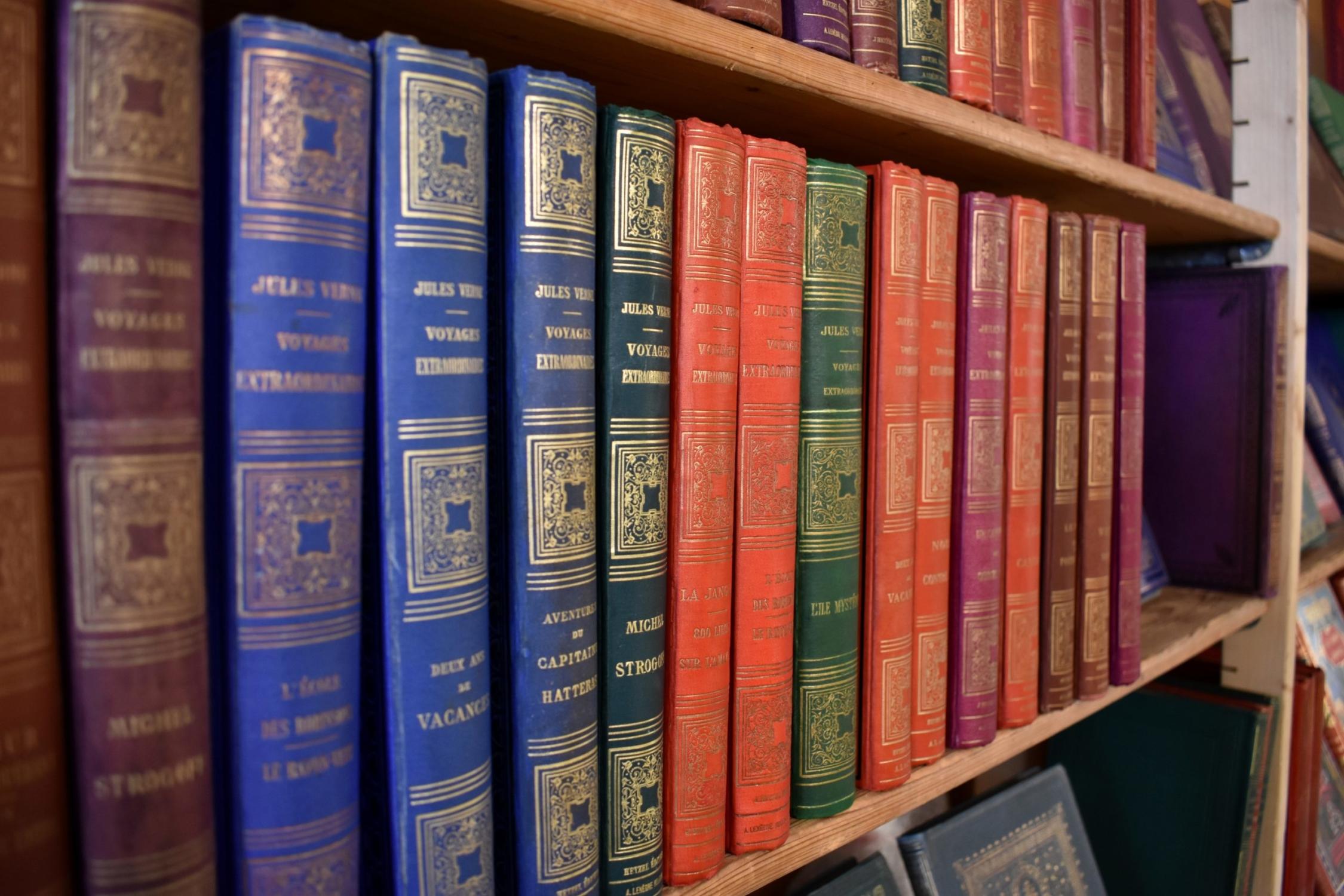Des romans de Jules Verne