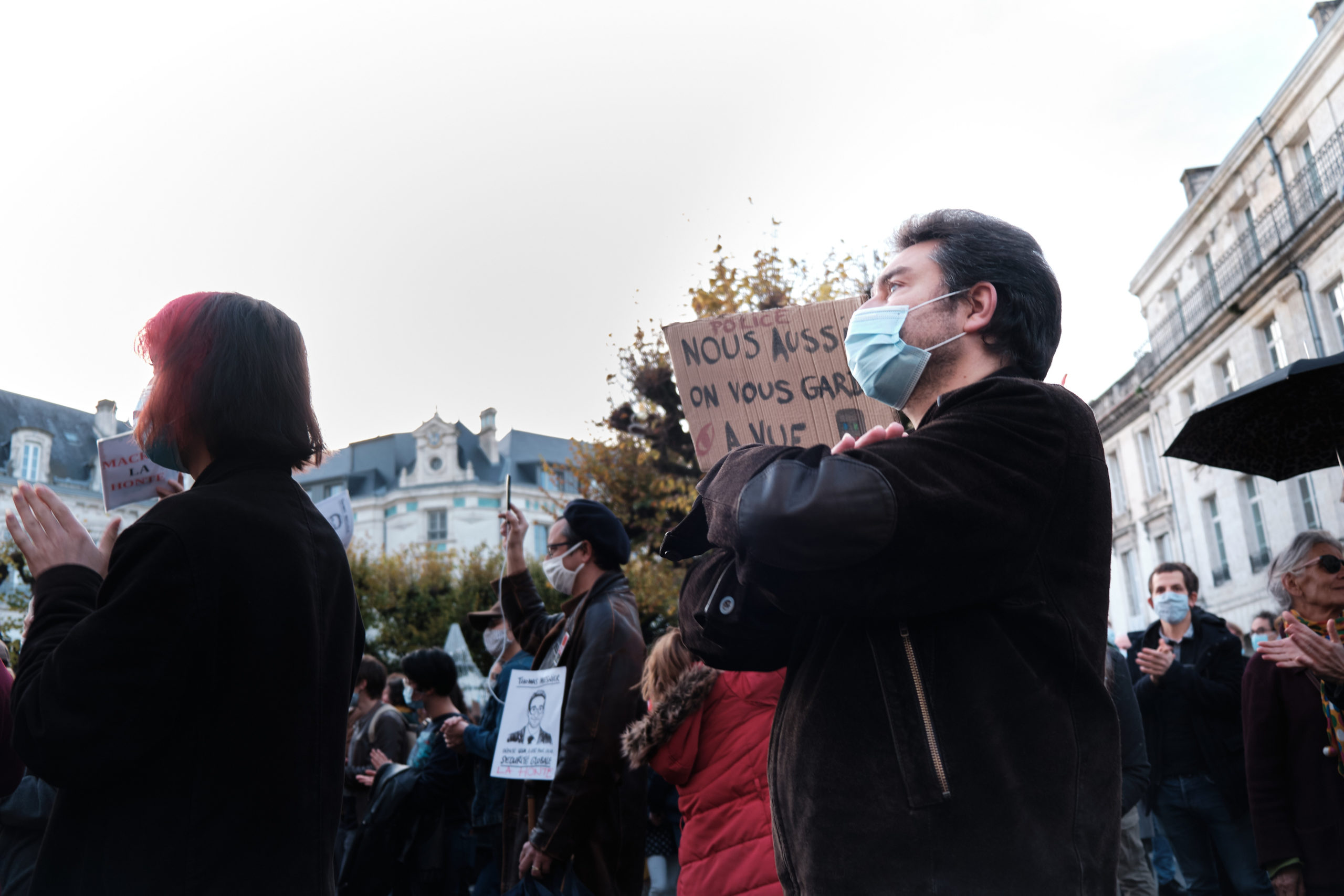 Manif PPL Sécurité Globale Angoulême